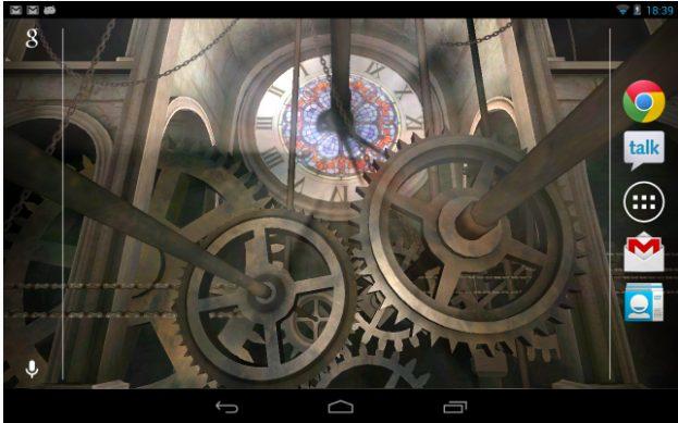 Clock Tower 3D Live Wallpaper app