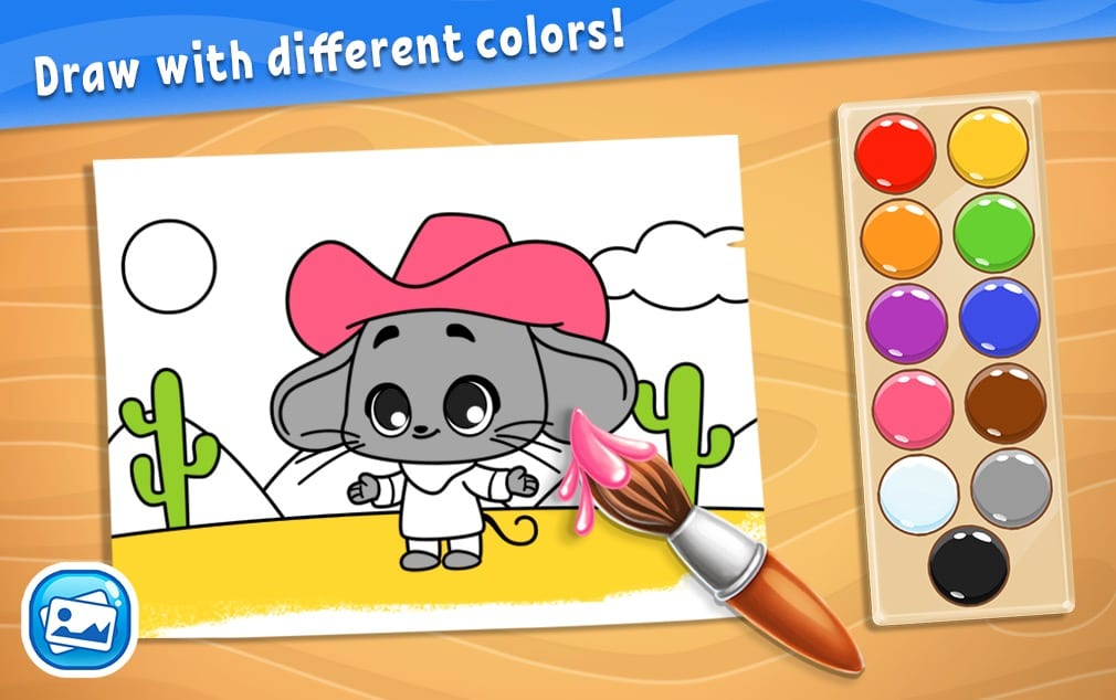 Colors for Kids, Toddlers, Babies - Learning Game app