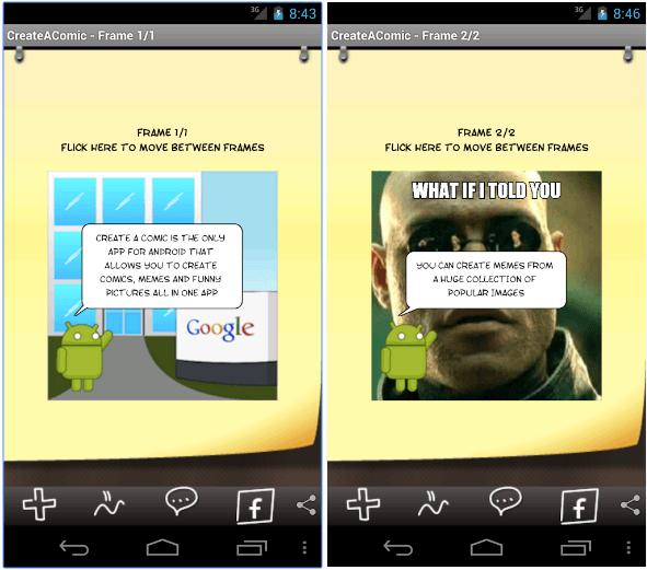 Comic & Meme Creator app