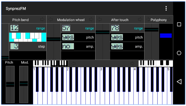 FM Synthesizer app