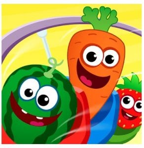 Funny Food educational games logo