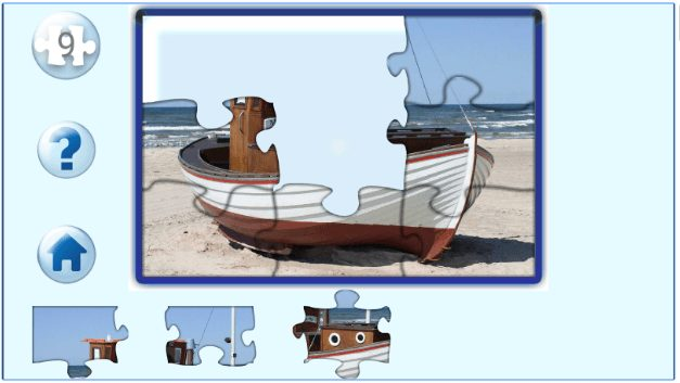 Jigsaw puzzles app