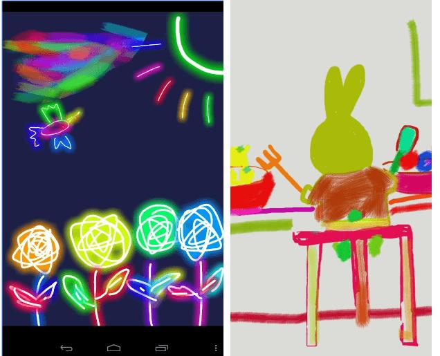 Kids Doodle app