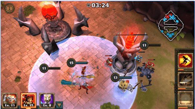 Legendary Heroes MOBA app