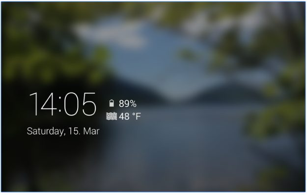 Lucid - DayDream Screensaver app