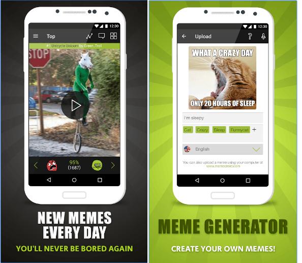 Memedroid app
