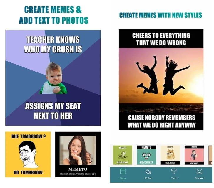 Memeto - Free Meme Maker