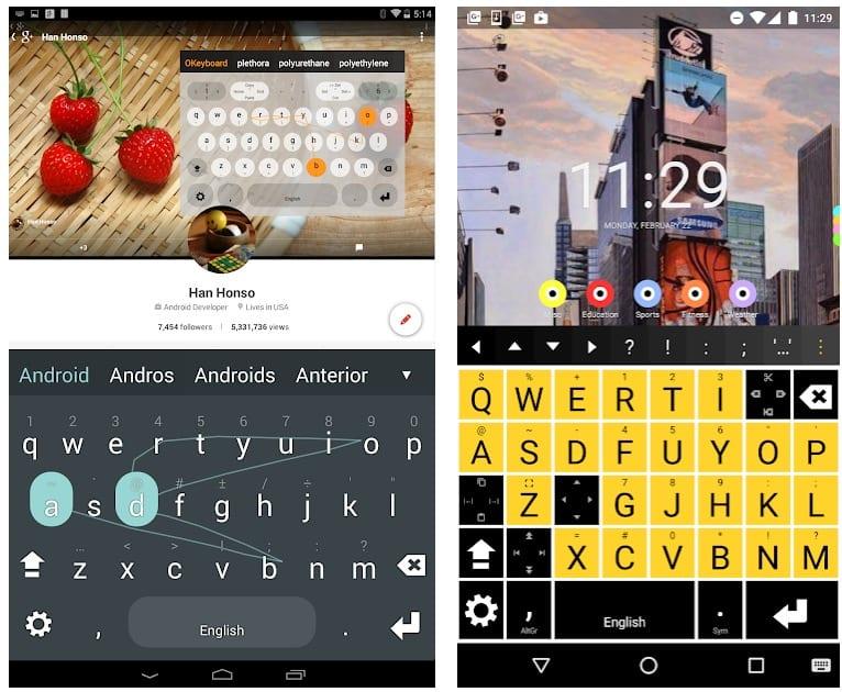 Multiling O Keyboard