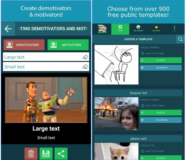Ololoid Meme Generator app