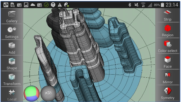 7 Android apps to make 3d models | Android apps for me