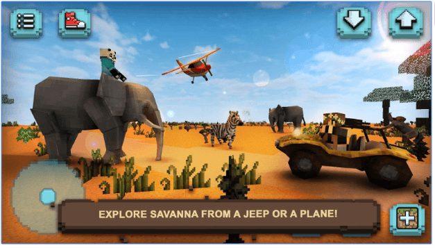 Savanna Safari Craft app