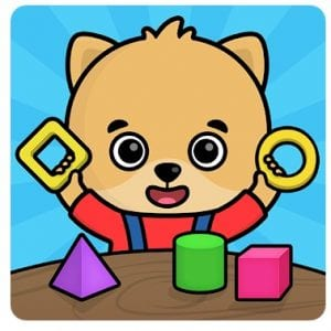 Toddler games for 2-5 year olds logo