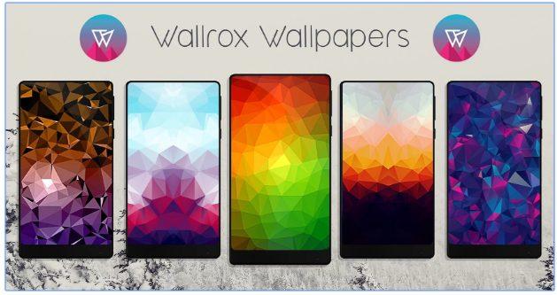 Wallrox Wallpapers app