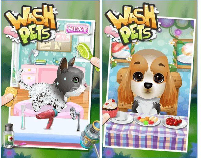 Wash Pets - kids games app