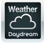 Weather DayDream Screensaver