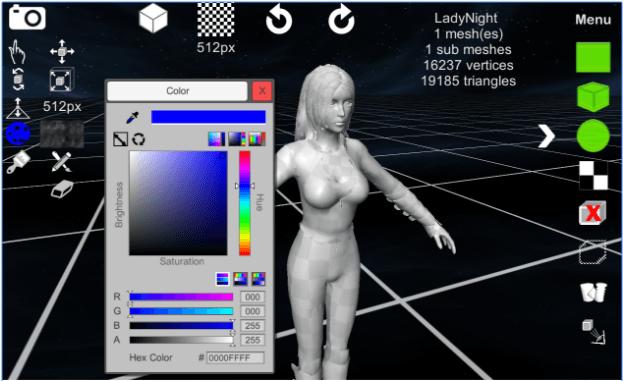 d3D Sculptor app