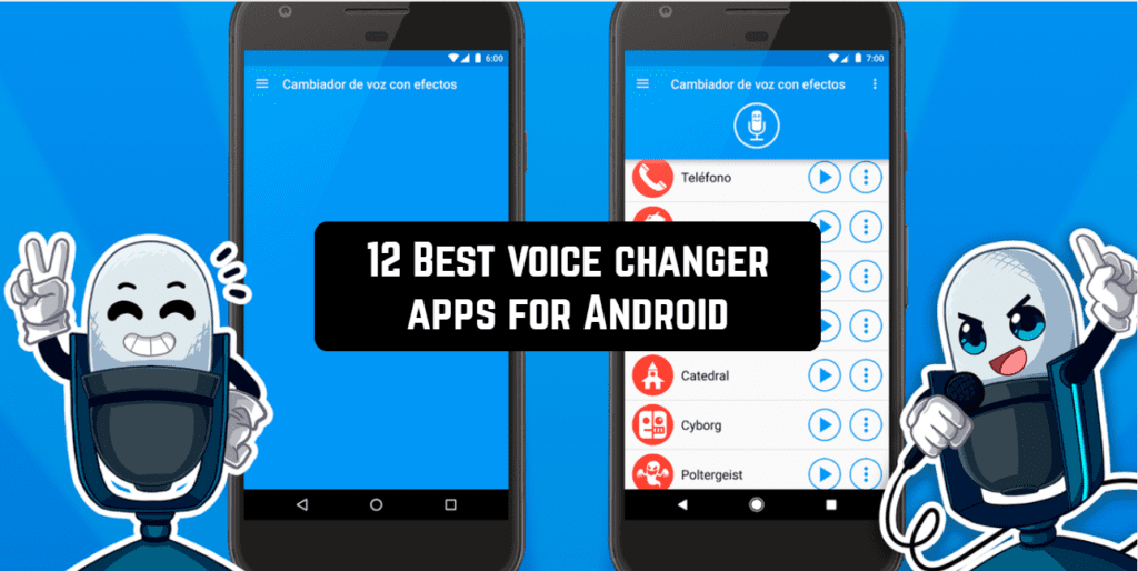 12 Best voice changer apps for Android