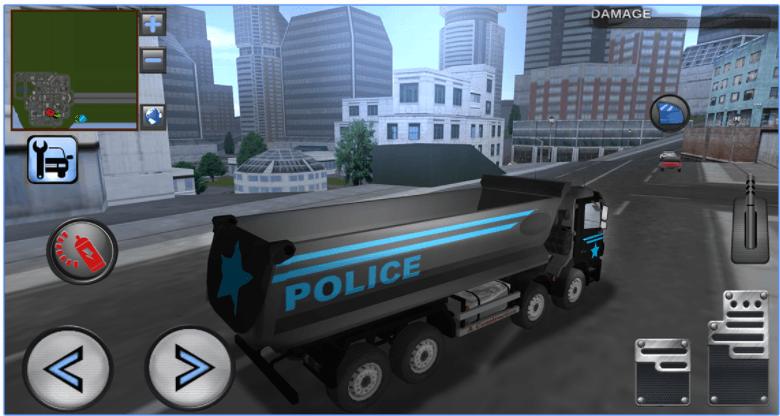 3D Police Truck Simulator app