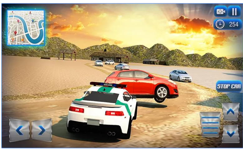 Border Police Adventure Sim 3D app