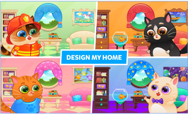 Bubbu – My Virtual Pet app
