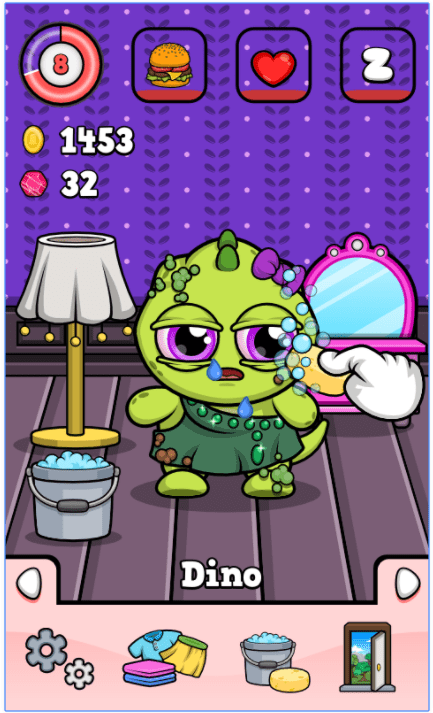 Dino 🐾 Virtual Pet Game 1