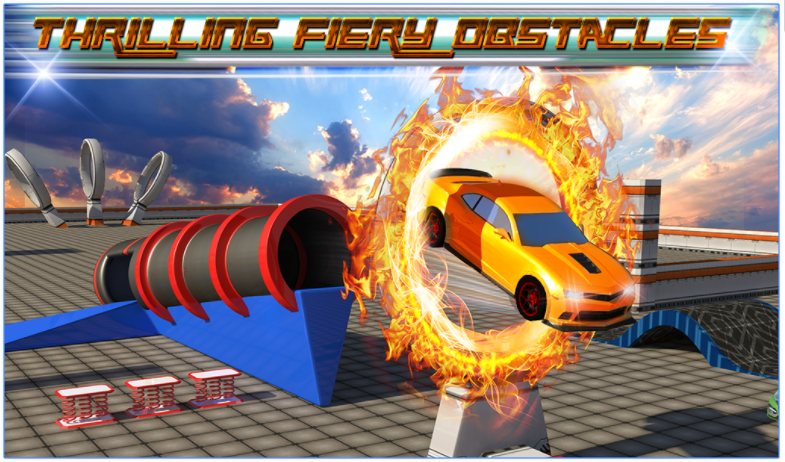 Extreme Car Stunts 3D app
