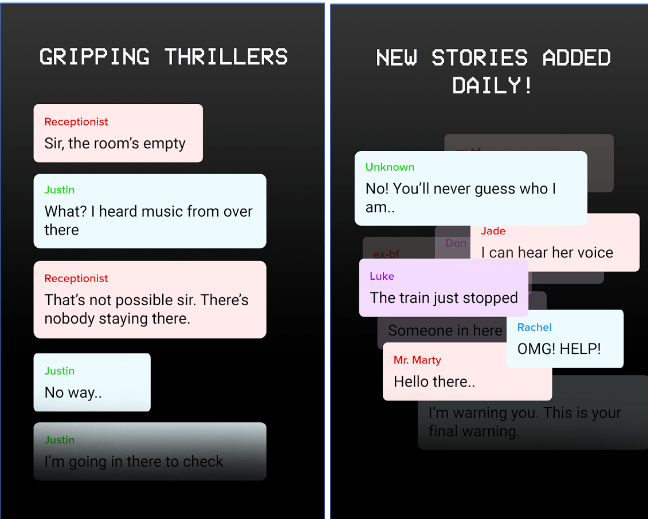 Scary Chat Stories - Hooked on Texts