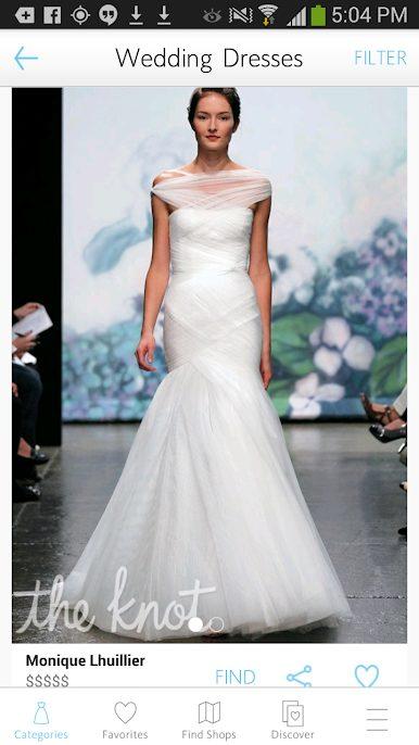 Wedding LookBook app