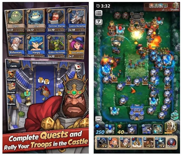 Castle Burn app