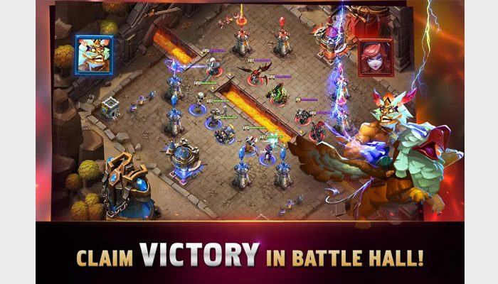 clash of lords rts