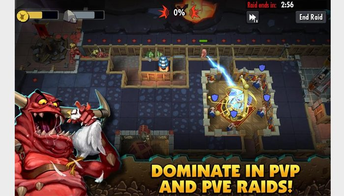 dungeon keeper mobile app