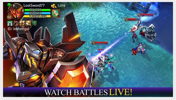 heroes oforder and chaosscreenshot