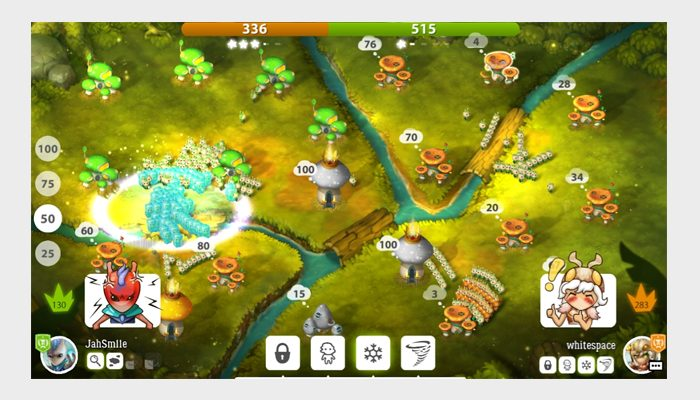 mushroom wars screenshot