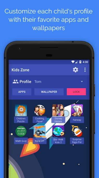 Kids Zone - Parental Controls & Child Lock app
