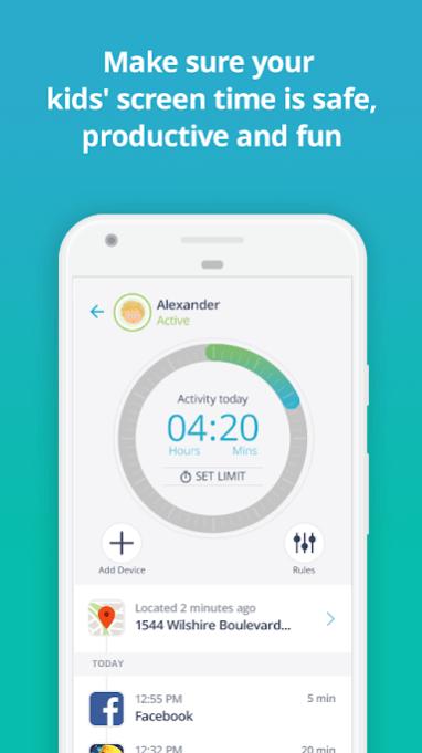 Qustodio app