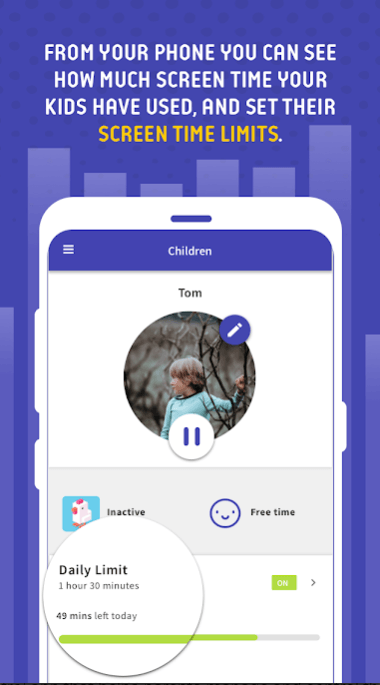 Screen Time Parental Control app