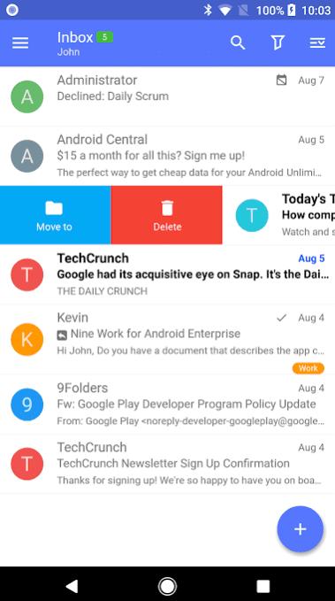 Nine - Email & Calendar app
