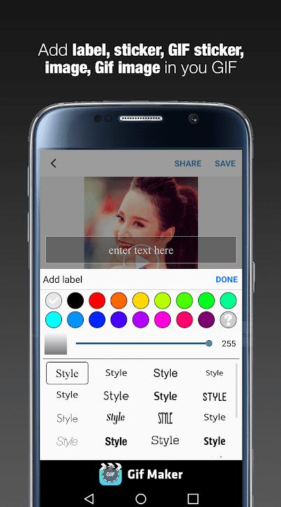 GIF Maker - GIF Editor app