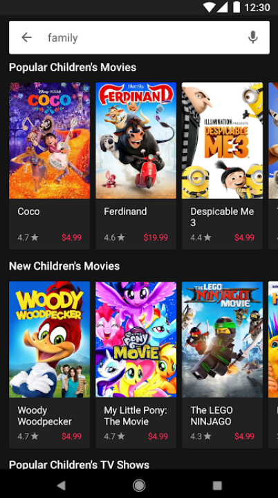 Google Play Movies & TV 1