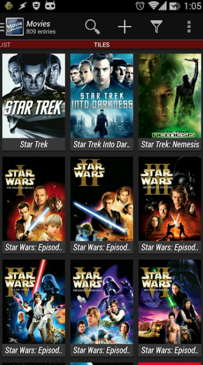 Movie Collection app