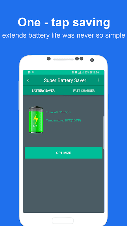 Super Battery Saver - Fast Charger