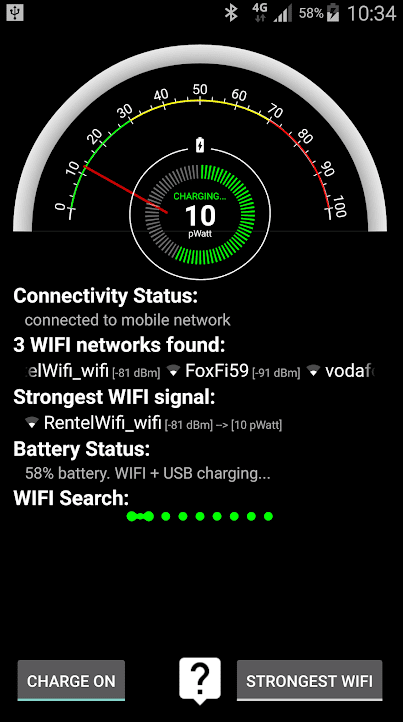 WIFI Charger app