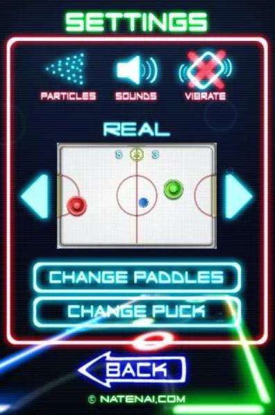Glow Hockey 2 app