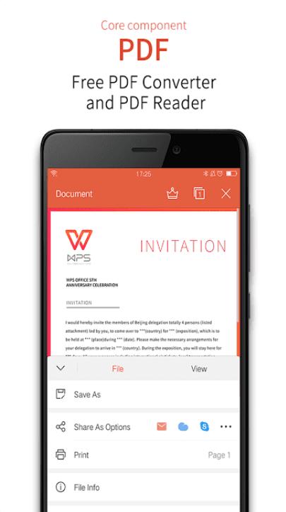 WPS Office + PDF app