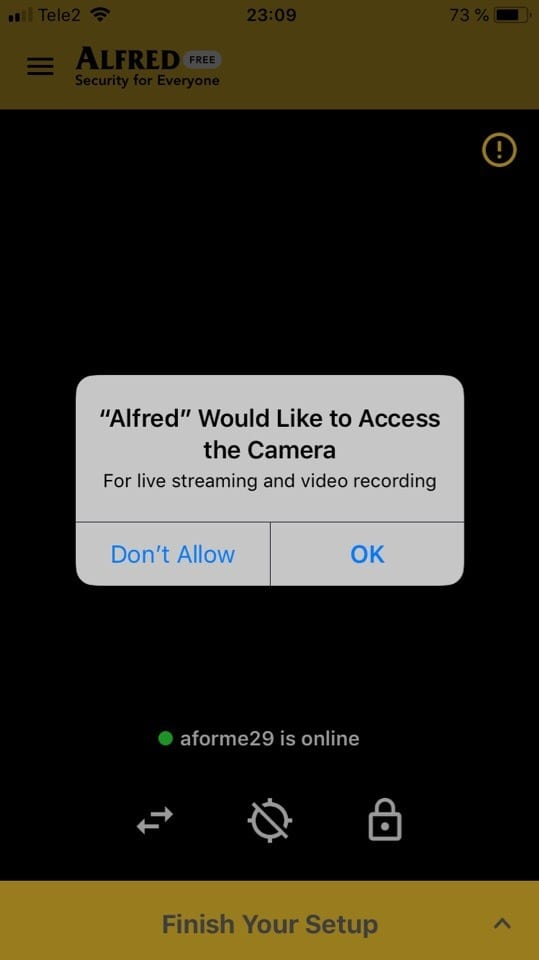 DIY CCTV Home Security Camera - Alfred app review | Android