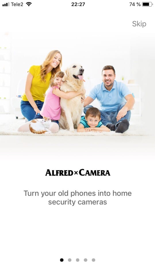 Alfred camera review