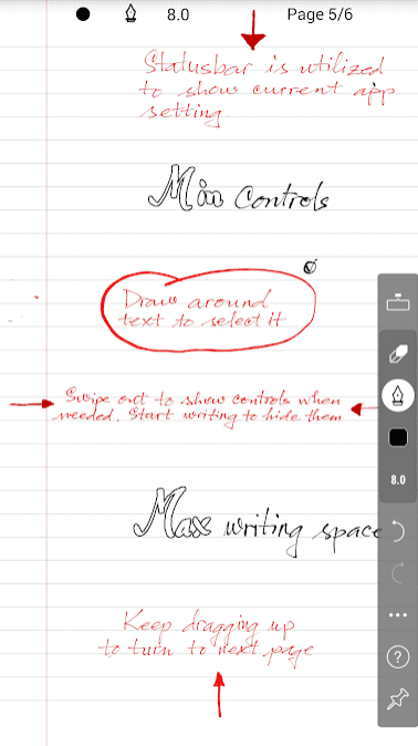 Kredible - Handwriting Note 1