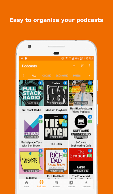 Podcast Republic app review