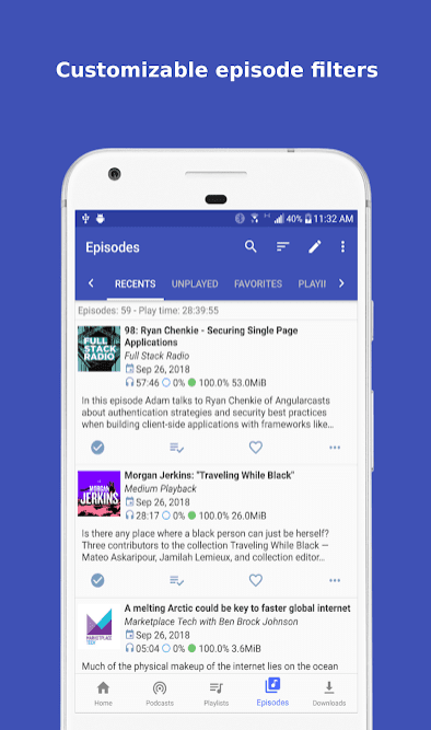 15 Best podcast apps for Android | Android apps for me