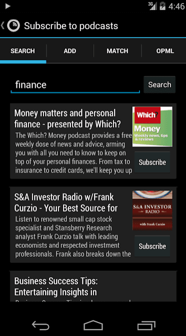 Podkicker Podcast Player app review